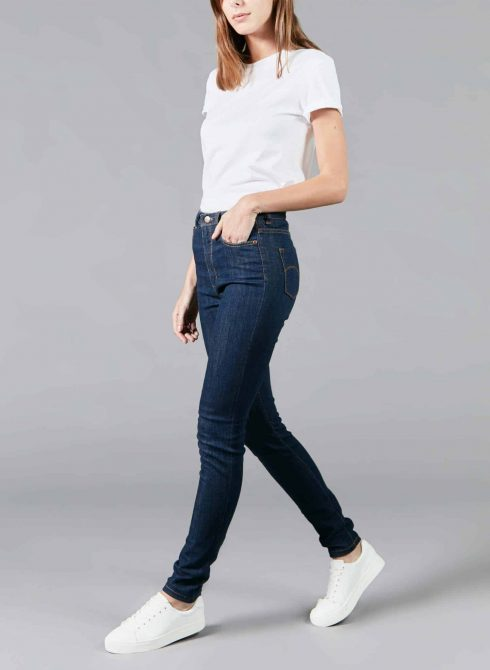 Marianne raw organic french jean for woman