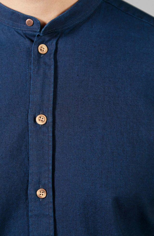Chemise made in France Causses pour homme en jean français brut