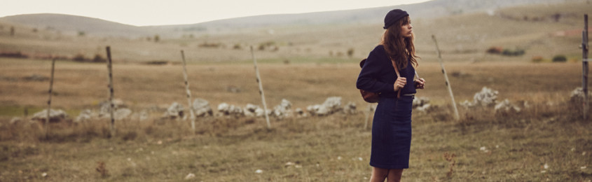 atelier tuffery jupe jean femme agathe lookbook causse mejean - Atelier TUFFERY