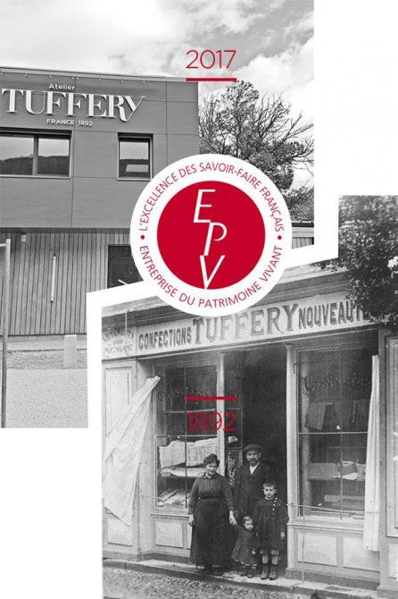 La première boutique versus le nouvel atelier : 125 ans d'histoire permettant d'obtenir le label EPV