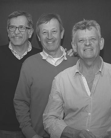 Jean-Jacques, Jean-Pierre et Norbert Tuffery - Atelier TUFFERY
