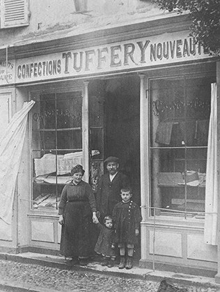 1920 - Birth of Jean-Alphonse Tuffery - Atelier TUFFERY