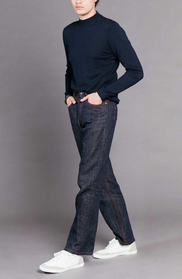 atelier tuffery pantalon jean homme brut chanvre chine desire 3