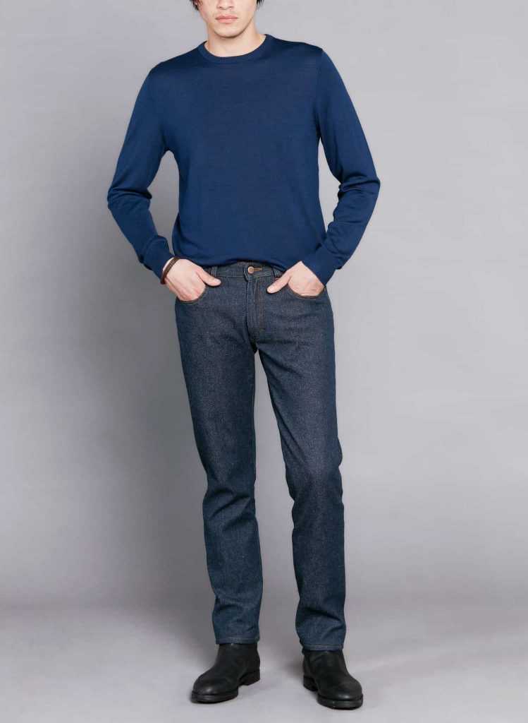 atelier tuffery pantalon jean homme brut laine locale merinos alphonse