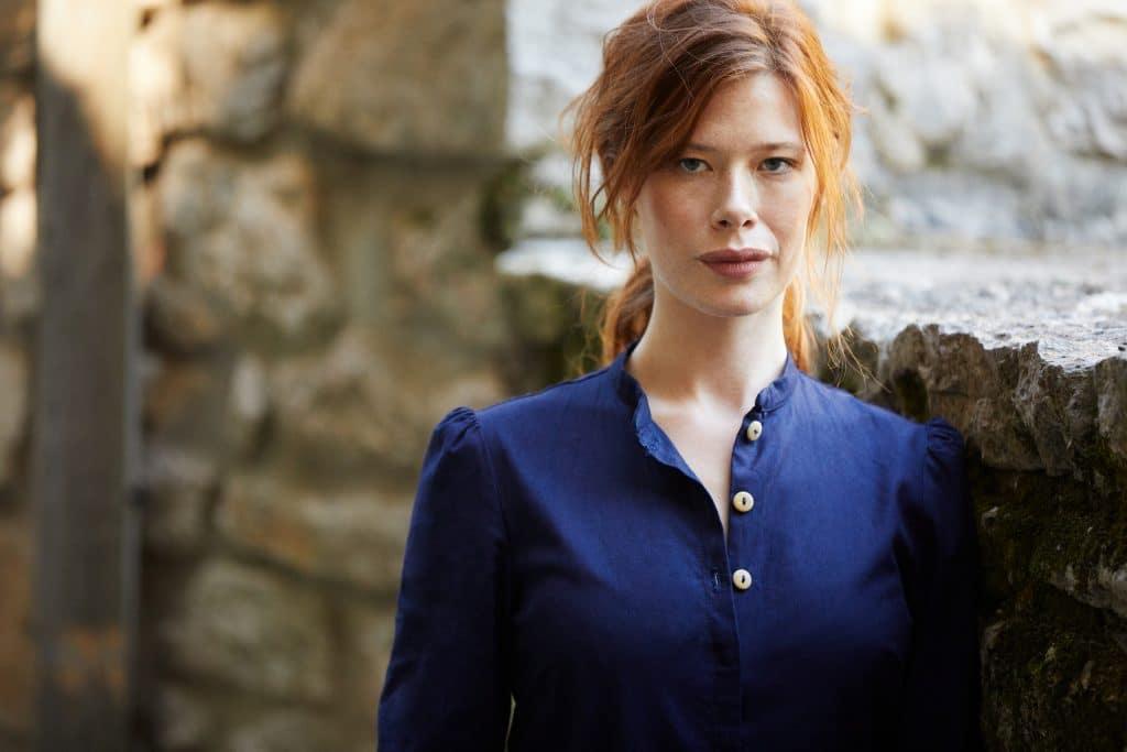 Jeans francais éthiques et ecoresponsables en Cévennes, tunique robe femme artisan - Lookbook #2