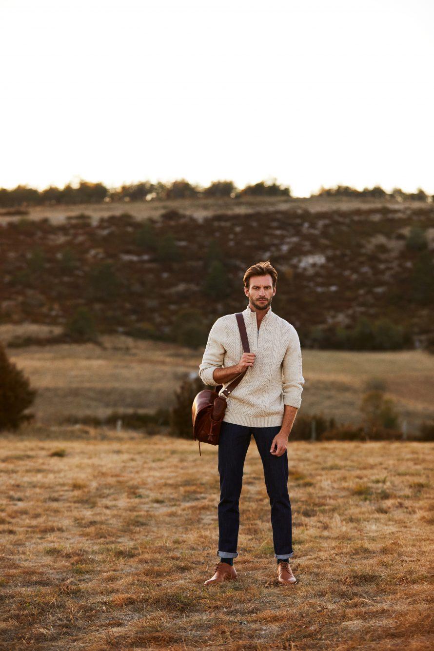 Pantalon jean homme Alphonse brut bio - Lookbook #2 - Atelier TUFFERY
