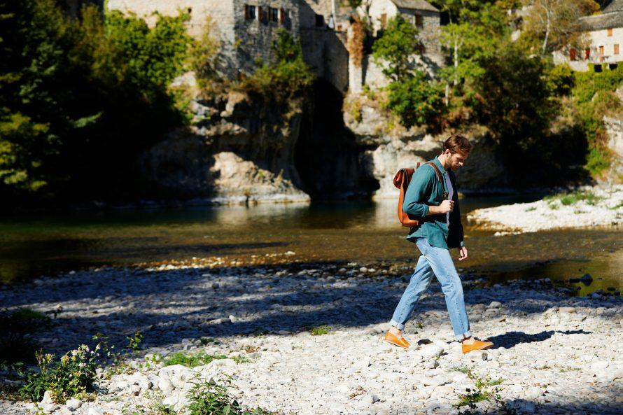 Pantalon jean homme Alphonse clair - Lookbook #2