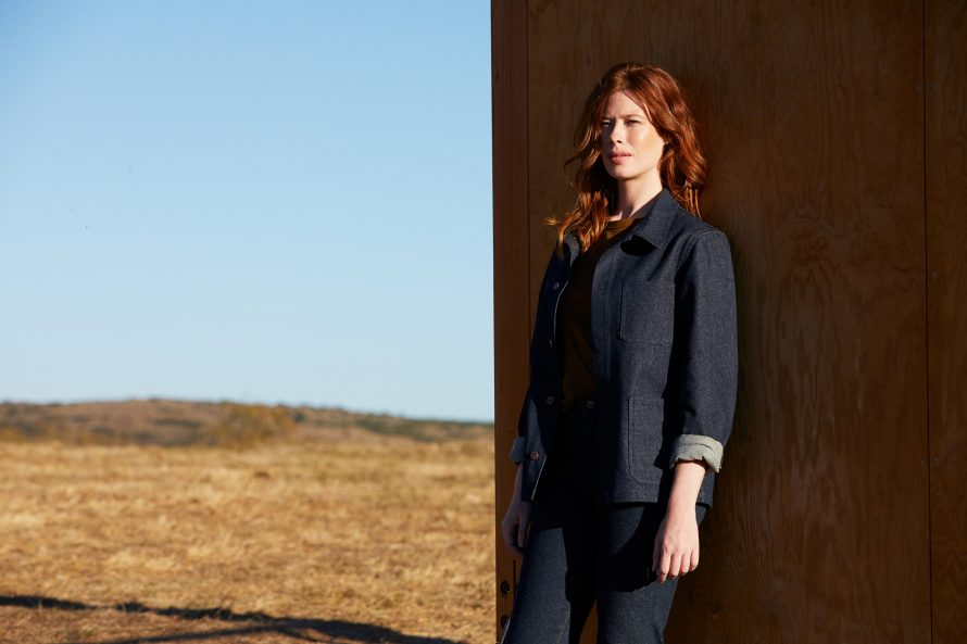 Veste Méjean femme brut laine et pantalon jean femme Marthe brut laine - Lookbook #2
