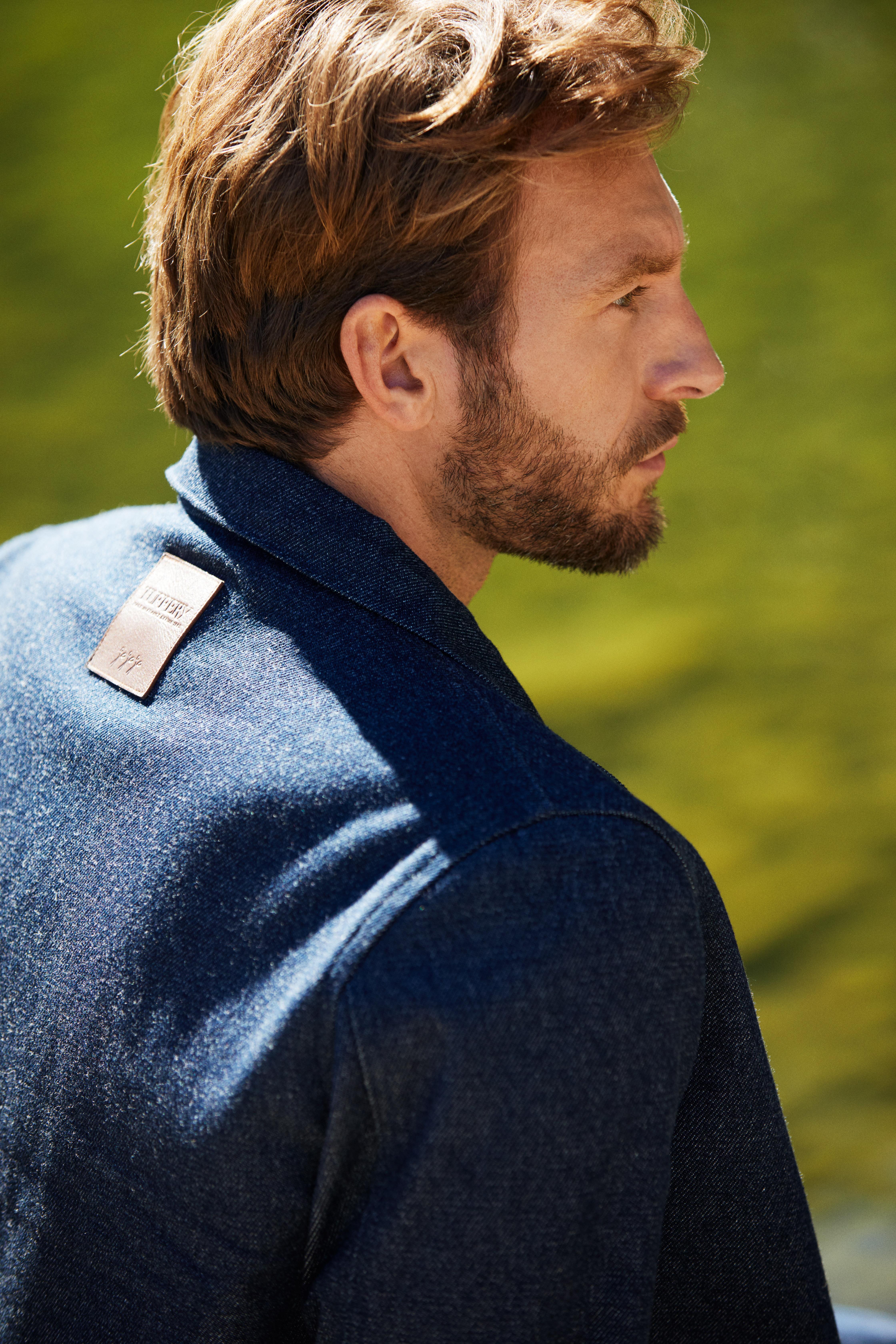 atelier tuffery veste blouson denim jean laine locale francais