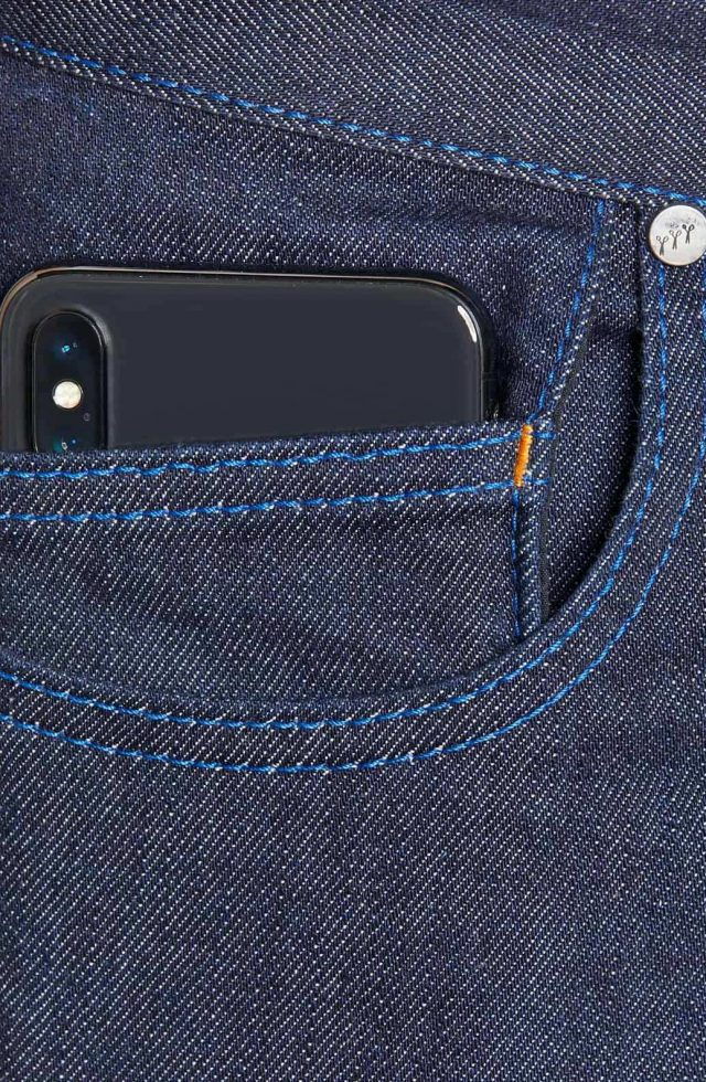 atelier tuffery alpine jean homme brut denim innovation poche smartphone