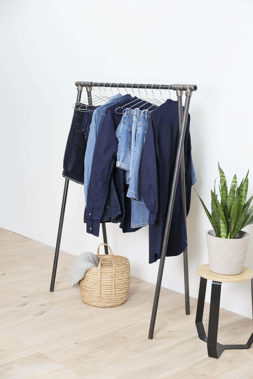 atelier tuffery portant acier atelier ripaton vêtements jean