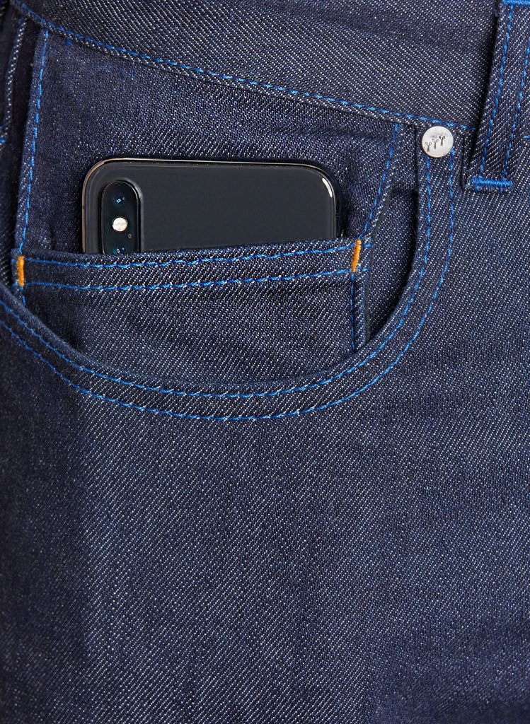 atelier tuffery alpine poche smartphone jean homme brut made in france