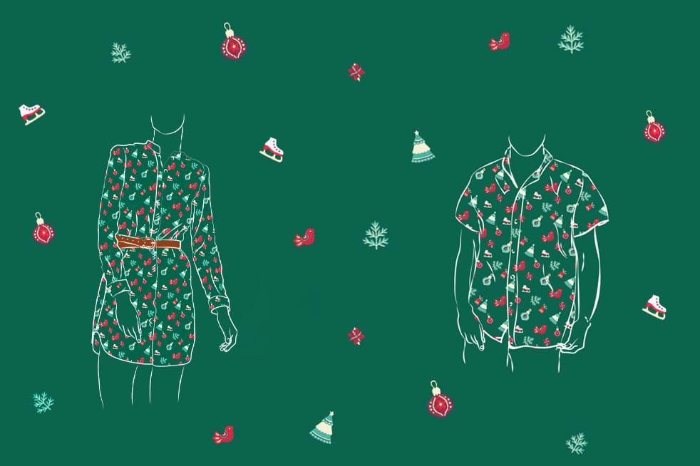 atelier tuffery jeu noel chemise tunique jean collector