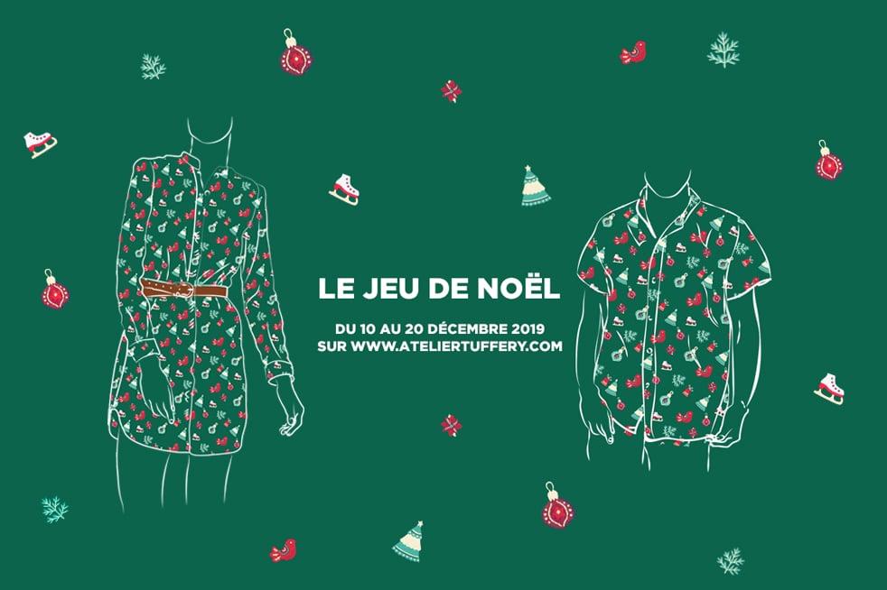 atelier tuffery noel jeu concours collector chemise tunique