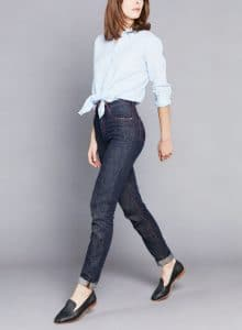 atelier tuffery pantalon jean mom femme brut chanvre chine marthe