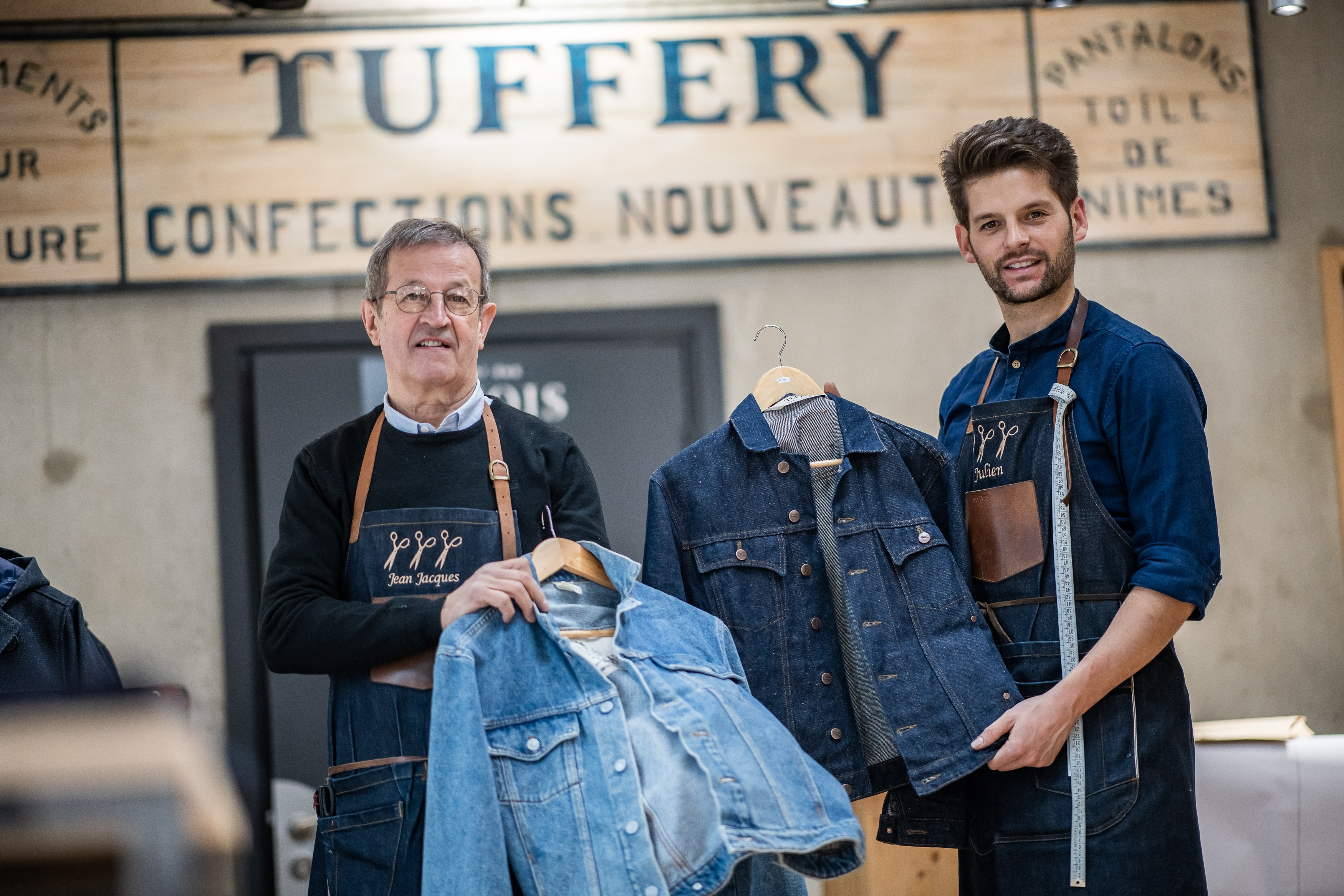 tuffery jean veste denim made in france fabrication française