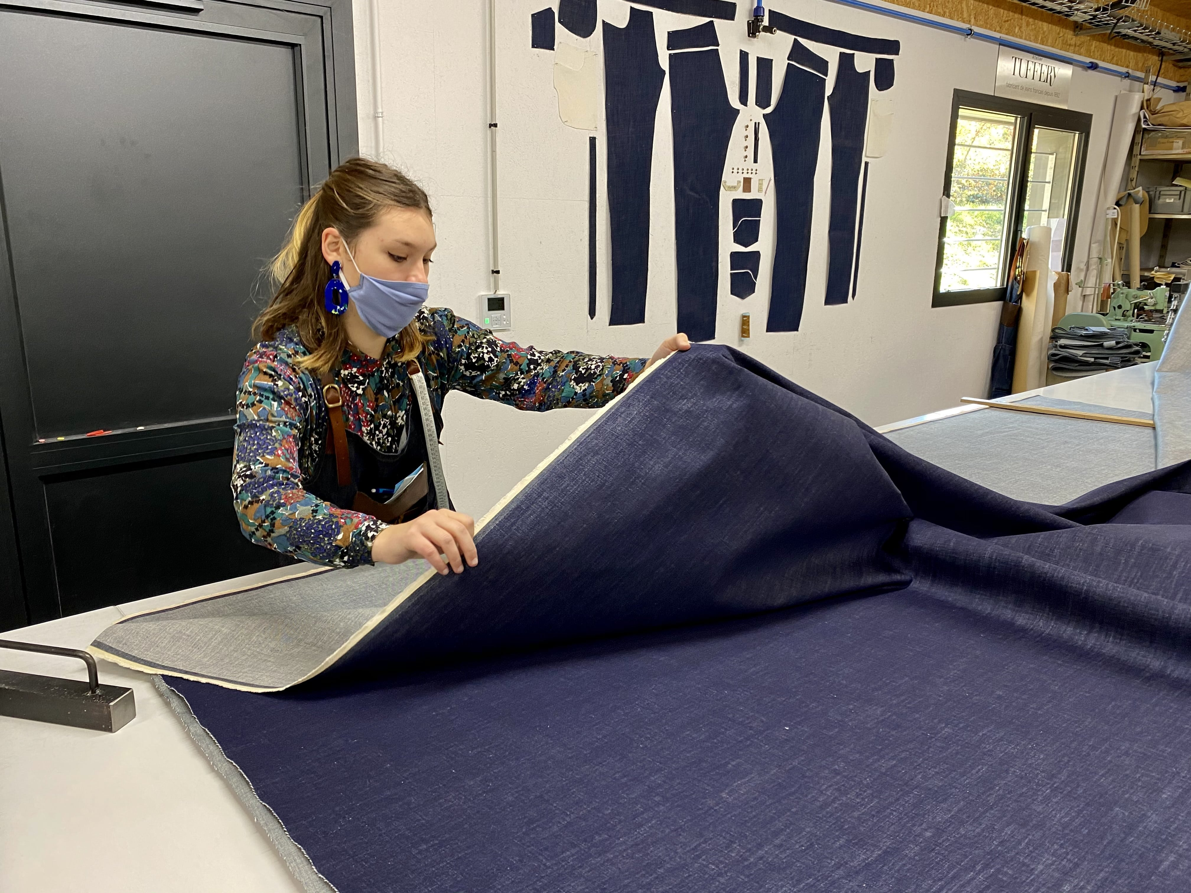 atelier tuffery challenge couture toile denim vosges made in france